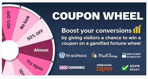 Coupon Wheel For WooCommerce and WordPress - Колесо купонов для WooCommerce и WordPress