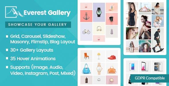 Everest Gallery v1.0.6 - Responsive WordPress Gallery Plugin