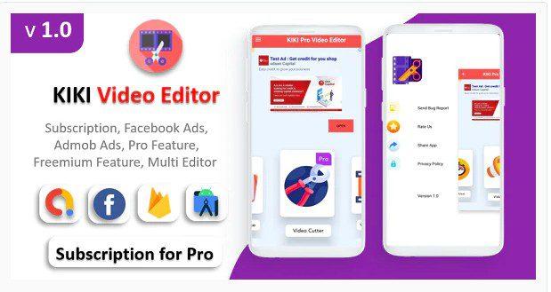 KIKI Pro Video Editor App v1.0