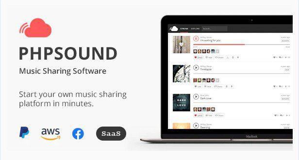 PHPSound v6.5.0 - платформа для обмена музыкой