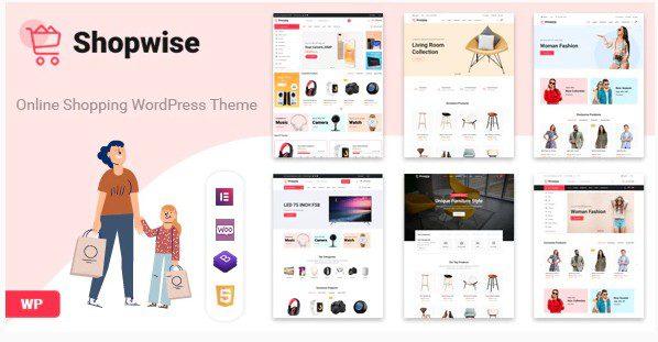 Shopwise v1.4.7 - Тема WooCommerce для модного магазина