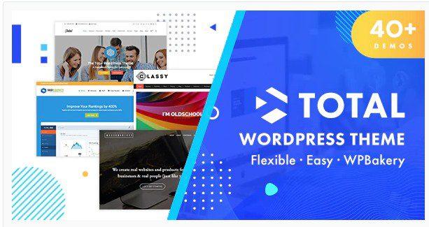 Total v5.1 - Отзывчивая многоцелевая тема WordPress