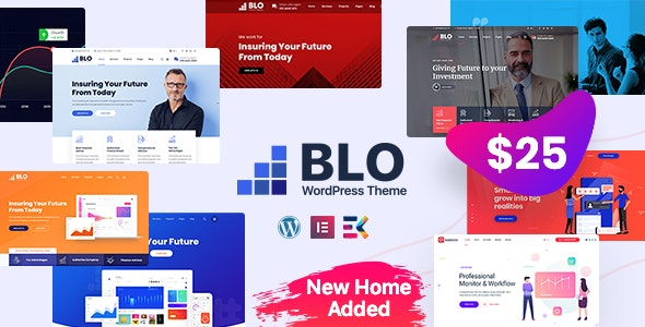BLO v3.0 - Corporate Business WordPress Theme