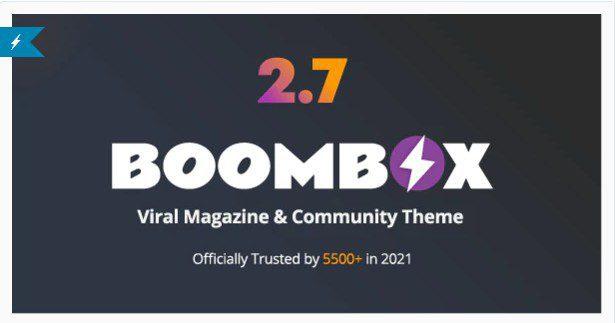 BoomBox v2.7.7 - Viral Magazine WordPress Theme