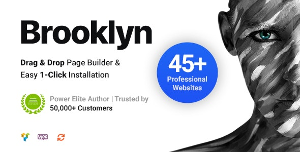 Brooklyn v4.9.6.6 - Creative Multi-Purpose Responsive WordPress Theme NULLED