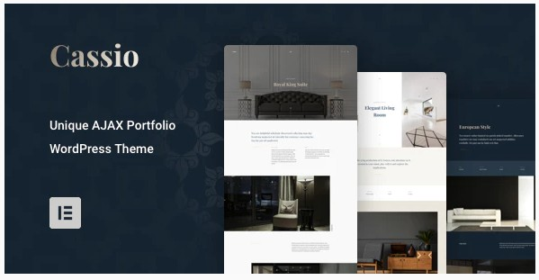 Cassio v2.6.1 - AJAX Portfolio WordPress Theme