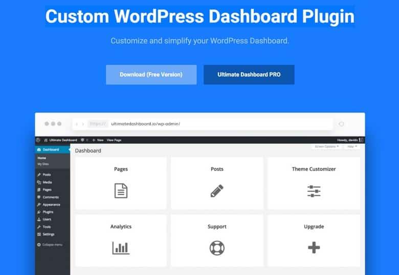 Page Builder Framework Premium Addon + Ultimate Dashboard PRO - Конструктор + Пользовательская Админка WP