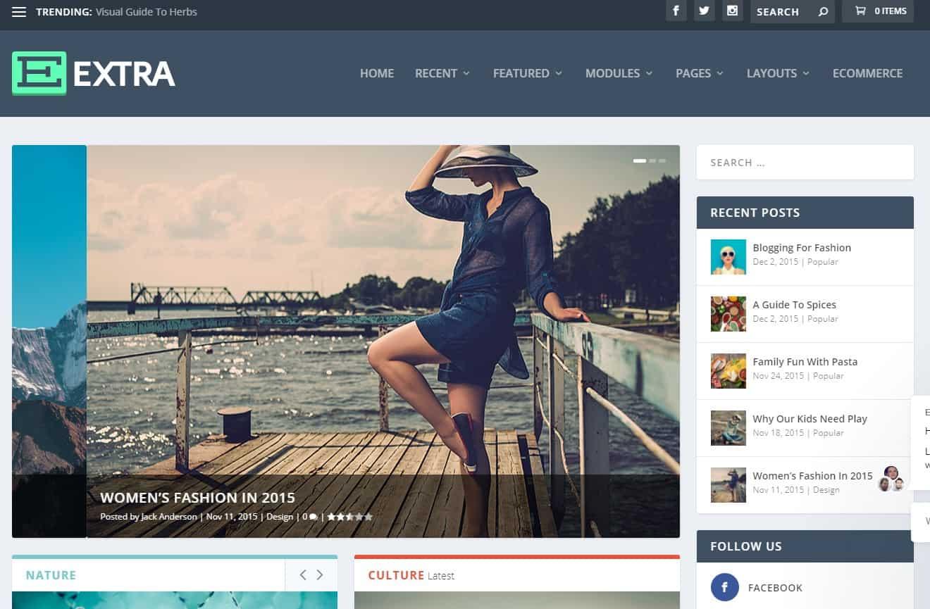 Extra v4.9.3 - Elegantthemes Premium Wordpress Theme
