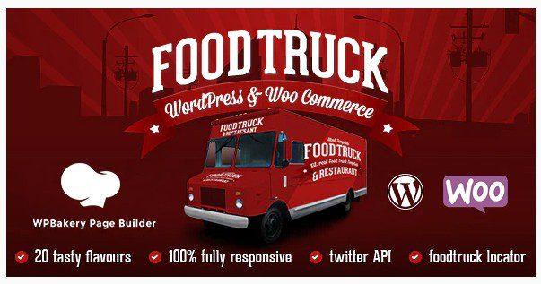 Food Truck & Restaurant 20 Styles v5.9 - WP Theme