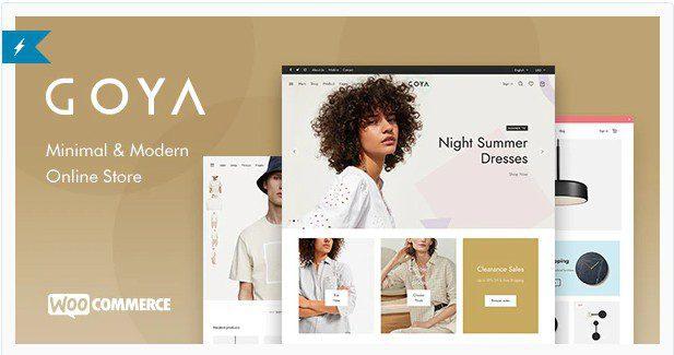 Goya v1.0.5.2 - Modern WooCommerce Theme
