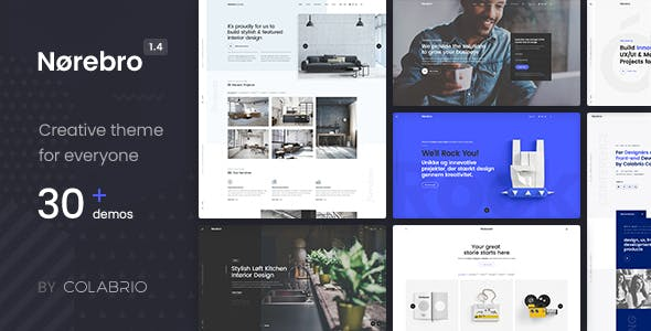 Norebro v1.5.3 - Creative Multipurpose WordPress Theme