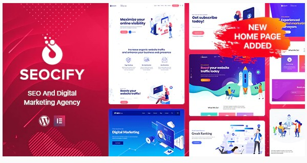 Seocify v2.5.0 - SEO And Digital Marketing Agency