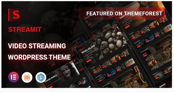 Streamit v1.3.1 - Video Streaming WordPress Theme + RTL