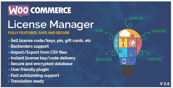 WooCommerce License Manager v4.3.5 NULLED