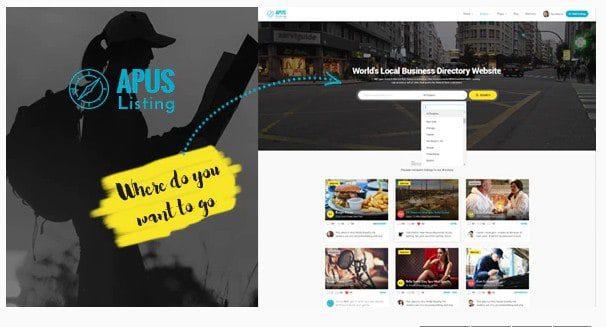 ApusListing v1.2.40 - WordPress тема каталога