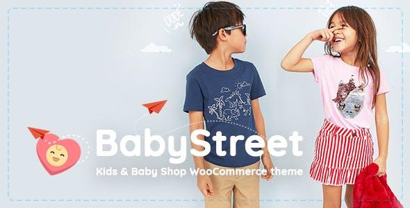 BabyStreet v1.5.2 - Тема WooCommerce для детских магазинов одежды и игрушек