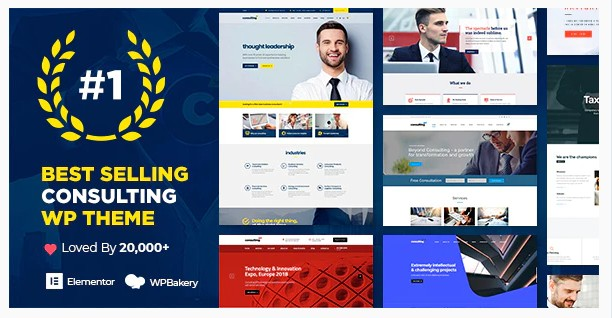 Consulting WP - тема WordPress для бизнеса и финансов