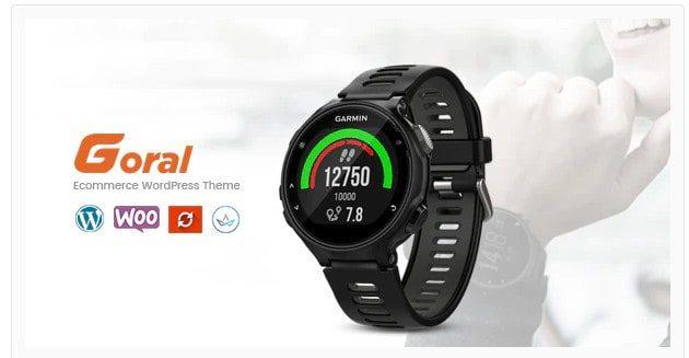 Goral SmartWatch v1.20 - Single Product Theme