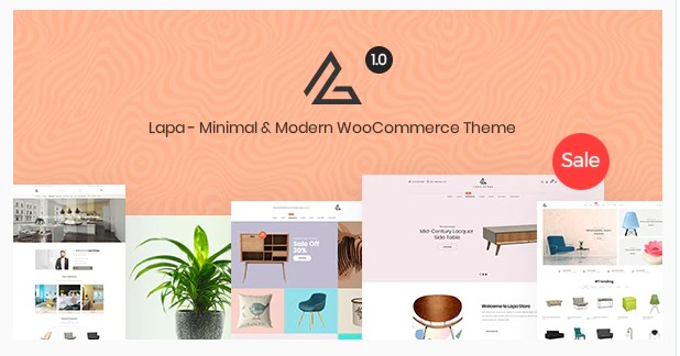 Lapa v1.1.5 - Minimal & Modern WooCommerce Theme