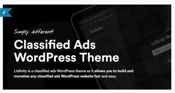 Lisfinity v1.2.0 - Classified Ads WordPress Theme NULLED