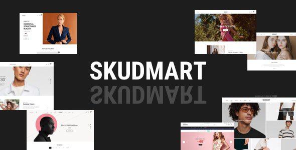 Skudmart v1.1.4 - Чистая, минимальная тема WooCommerce