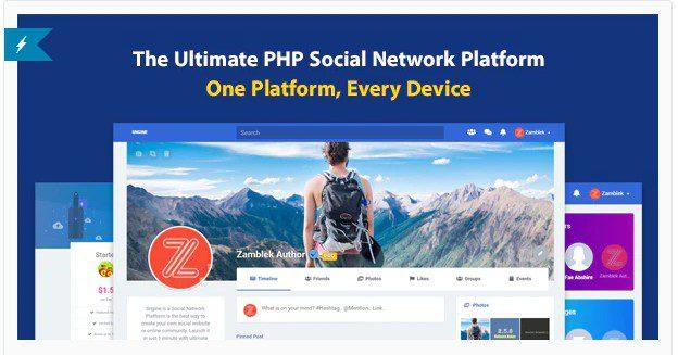 Sngine v3.1 - Лучшая платформа для социальных сетей на PHP - nulled