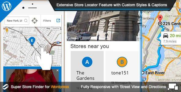 Super Store Finder for Wordpress v6.5
