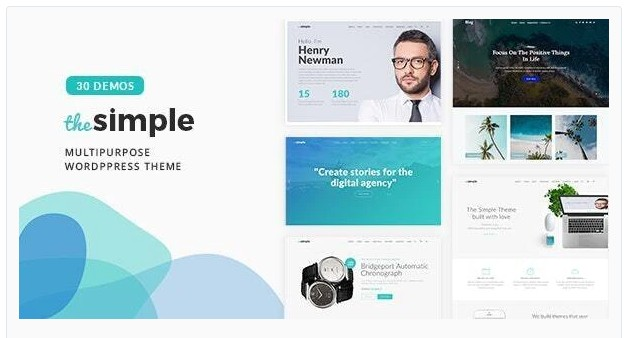The Simple v2.6.6 - Business WordPress Theme