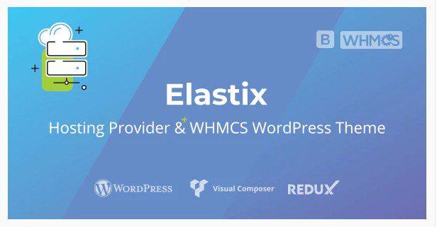 Elastix - WordPress тема  WHMCS  Хостинг-провайдера