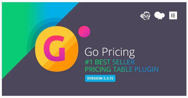 Go Pricing v3.3.19 - плагин WordPress адаптивные таблицы цен