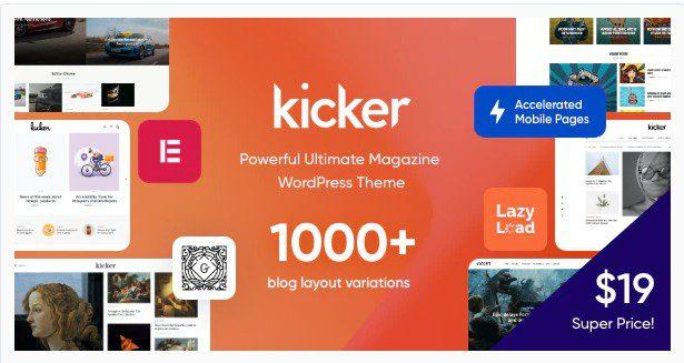 ClickBoom v1.6.6 — тема WordPress для цифрового WooCommerce магазина