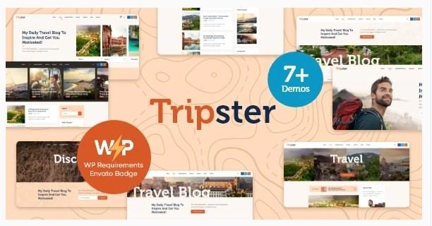 Tripster v1.0.1 - блог WordPress о путешествиях и стиле жизни