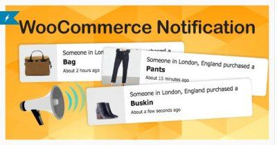 WooCommerce Notification | Увеличьте свои продажи — Всплывающее окно последних продаж — Дополнительные продажи