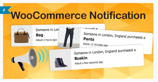 WooCommerce Notification | Увеличьте свои продажи - Всплывающее окно последних продаж - Дополнительные продажи