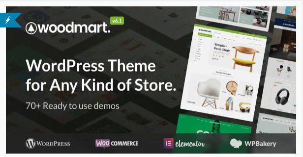 WoodMart - WooCommerce WordPress Тема