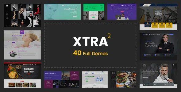 XTRA v4.2.1 - Multipurpose WP Theme NULLED