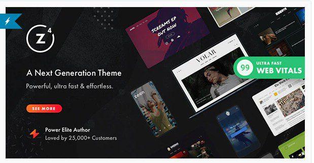 Zeen v4.0.9.1   WordPress тема для журналов следующего поколения