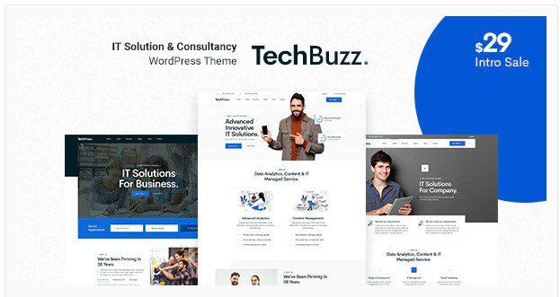 BngTech - тема WordPress для ИТ-решений