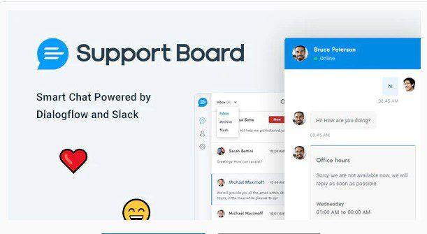 Chat - Support Board - Чат поддержки