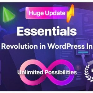 Essentials - Nulled - Многоцелевая WordPress тема