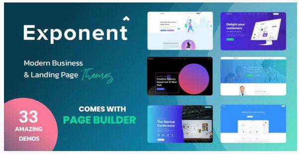 Exponent - WordPress тема для бизнеса