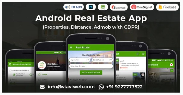 Приложение Android Real Estate