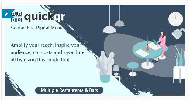 QuickQR - Saas - создатель QR-меню ресторана
