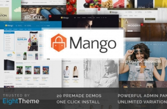 Манго — Быстро реагирующая Тема Woocommerce