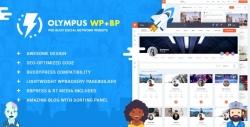Купить дешевле со скидкой Olympus — Responsive Community & Social Network WordPress Theme 22788499 (СОЦСЕТЬ BUDDYPRESS)