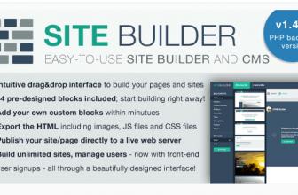 SiteBuilder — Конструктор Сайтов и Лендингов