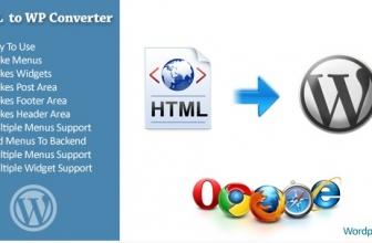HTML в WordPress Конвертер