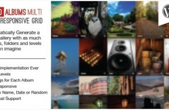 WP Автоматические Фотоальбомы – Мульти Уровневая Сеть Изображений