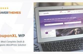 CouponXL — купоны, предложения и скидки WP Тема