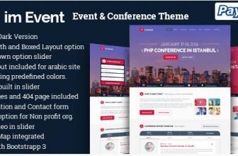 События & Конференции — Тема WordPress